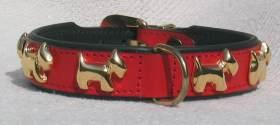 Hunde-Halsband-Westi-rot